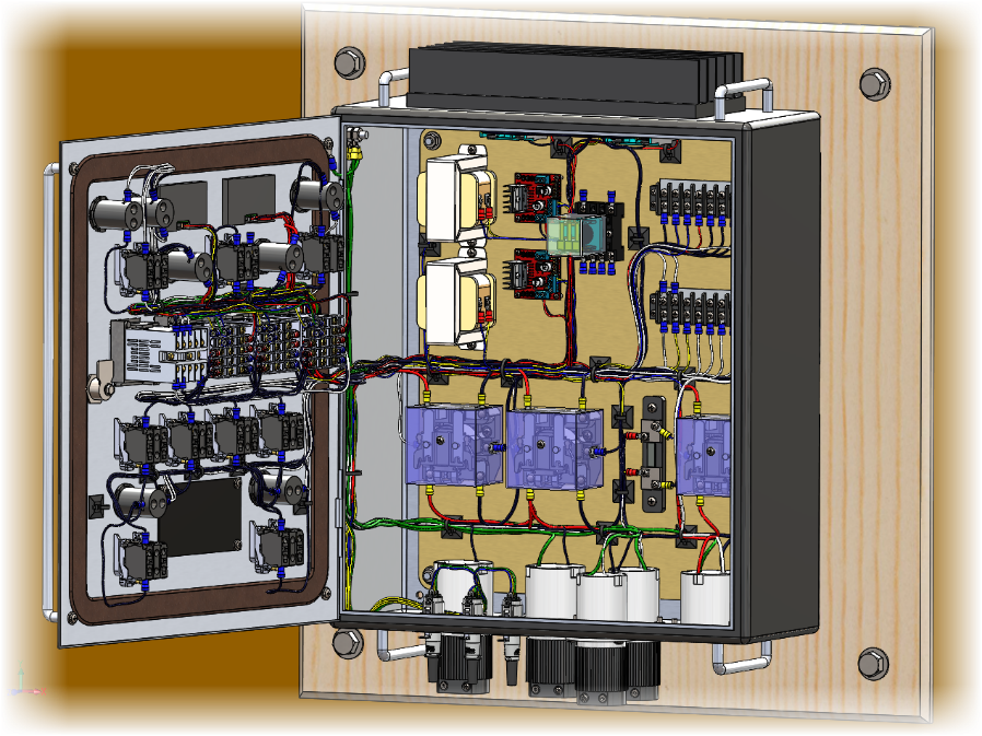 Wiring Diagram With Solidworks : Brewing with electricity the solidworks brewery